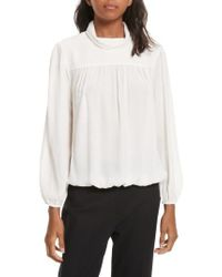 Joie - White Lively Silk Top - Lyst