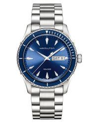 Hamilton - Metallic Jazzmaster Seaview Bracelet Watch for Men - Lyst