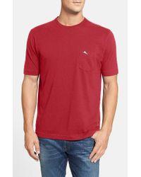 Tommy Bahama | White 'new Bali Sky' Original Fit Crewneck Pocket T-shirt for Men | Lyst