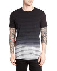 Globe | Black 'moonshine' Stripe Jersey T-shirt for Men | Lyst