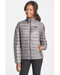 Patagonia | Gray Packable Down Jacket, Grey | Lyst