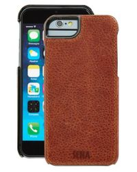 Sena | Brown Heritage Lugano Leather Iphone 6/6s Case for Men | Lyst