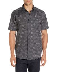 Patagonia | Gray 'go To' Slim Fit Short Sleeve Sport Shirt for Men | Lyst