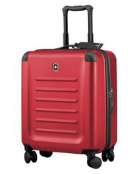 Victorinox | Red Victorinox Swiss Army 'spectra 2.0' Extra Capacity Hard Sided Rolling Carry-on for Men | Lyst