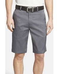 Nike | Gray Flat Front Golf Shorts for Men | Lyst