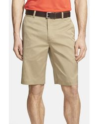 Nike - Natural Flat Front Golf Shorts for Men - Lyst