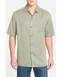 Tommy Bahama | Green 'san Clemente' Original Fit Silk Camp Shirt for Men | Lyst