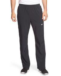 Nike   Black Dri-fit Woven Pants for Men   Lyst
