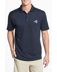 Cutter & Buck | Blue 'los Angeles Rams - Genre' Drytec Moisture Wicking Polo for Men | Lyst