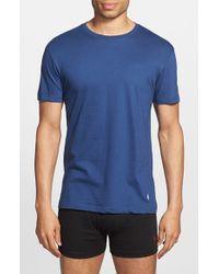 Polo Ralph Lauren | Blue Classic Fit 3-pack Cotton T-shirt, Black for Men | Lyst