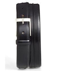 Mezlan - Black 'parma' Leather Belt for Men - Lyst