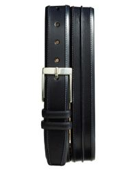 Mezlan | Blue 'parma' Leather Belt for Men | Lyst