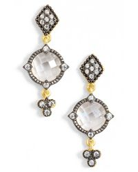Freida Rothman | Metallic Metropolitan Drop Earrings | Lyst