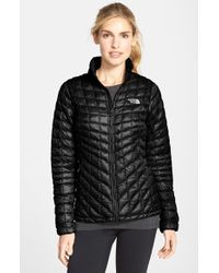 The North Face | Black Thermoball(tm) Full Zip Jacket | Lyst