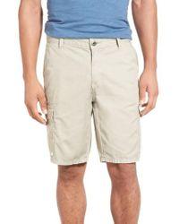 Original Paperbacks - Natural 'newport' Cargo Shorts for Men - Lyst