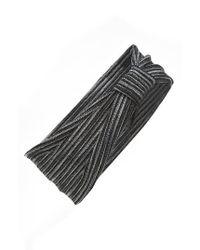 Tasha | Red Stripe Knot Head Wrap | Lyst