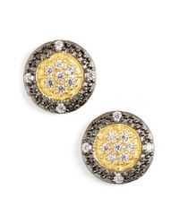 Freida Rothman - Metallic 'metropolitan' Stud Earrings - Lyst