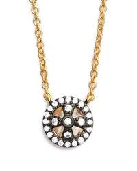Freida Rothman - Metallic 'metropolitan' Small Pendant Necklace - Lyst