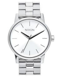 Nixon | Metallic 'kensington' Bracelet Watch | Lyst