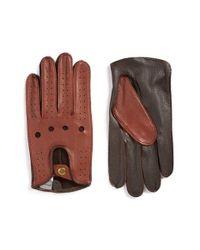 John W. Nordstrom | Black John W. Nordstrom Leather Driving Gloves for Men | Lyst