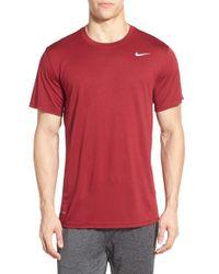Nike | Red 'legend 2.0' Dri-fit Training T-shirt for Men | Lyst