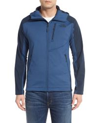 The North Face | Blue Tenacious Active Fit Hooded Jacket for Men | Lyst