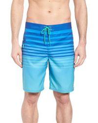 Vineyard Vines Blue Surflodge Stripe Board Shorts for men