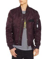 ELEVEN PARIS - Purple Nuxy Bomber Jacket for Men - Lyst