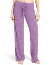 Make + Model | Pink 'best Boyfriend' Brushed Hacci Lounge Pants | Lyst