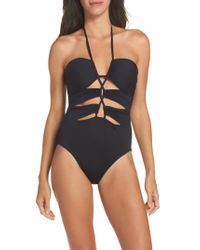 La Blanca - Black Island Goddess One-piece Swimsuit - Lyst