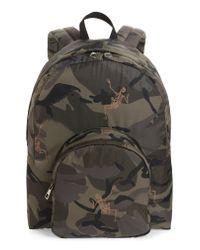 Alexander McQueen - Multicolor Dancing Skeleton Camo Backpack for Men - Lyst