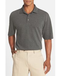 Cutter & Buck | Gray 'championship' Classic Fit Drytec Golf Polo for Men | Lyst
