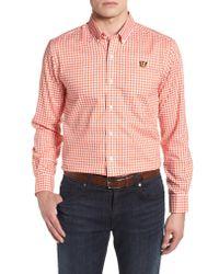 Cutter & Buck - Pink League Cincinnati Bengals Regular Fit Shirt for Men - Lyst