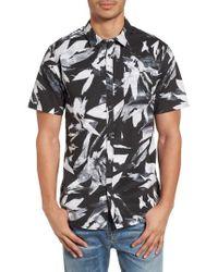 Billabong - Black Sundays Floral Shirt for Men - Lyst