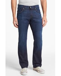 7 For All Mankind | Blue 7 For All Mankind 'austyn' Relaxed Straight Leg Jeans for Men | Lyst
