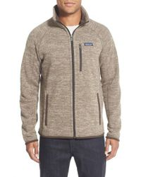 Patagonia - Natural 'better Sweater' Zip Front Jacket for Men - Lyst