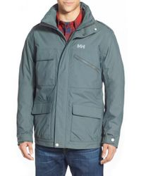 Helly Hansen - Gray 'universal' Moto Rain Jacket for Men - Lyst