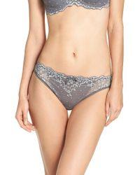 Chantelle | Gray 'rive Gauche' Bikini | Lyst