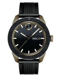Movado - Black Bold Sport Silicone Strap Watch for Men - Lyst