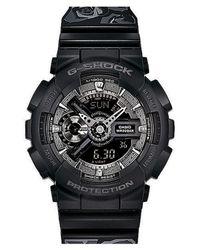 G-Shock - Black G-shock 's-series' Floral Band Resin Ana-digi Watch - Lyst