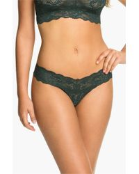 Cosabella - Green 'never Say Never Cutie' Thong - Lyst