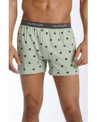 Calvin Klein | Black 'u1029' Slim Fit Boxer Shorts for Men | Lyst