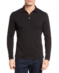 Robert Barakett | Black 'banff' Regular Fit Polo for Men | Lyst