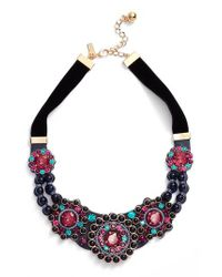 Kate Spade - Multicolor Luminous Small Statement Necklace - Lyst