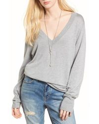 Treasure & Bond - Gray Slouchy Sweater - Lyst
