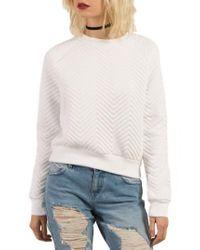 Volcom   White Cozy Dayz Sweatshirt   Lyst
