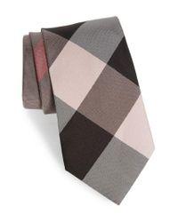 Burberry - Multicolor Clinton Silk Tie for Men - Lyst