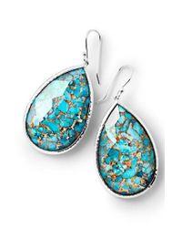 Ippolita - Blue Rock Candy Large Teardrop Earrings - Lyst