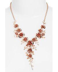 Kate Spade - Metallic Garden Garland Y-necklace - Lyst