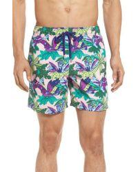 Vilebrequin | Multicolor 'moorea - Forest Paradise' Swim Trunks for Men | Lyst